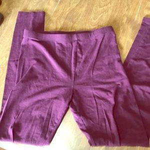 Pants - Burgundy leggings